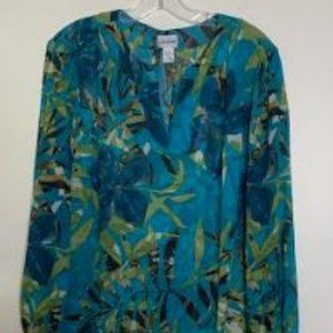 Chico's Silk Pullover Blouse